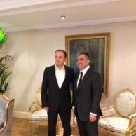 Çankaya Sofrası Öğle Yemeği Daveti - Sosyal Medya, 2013 (Lunch with the President of Turkey on social media)
