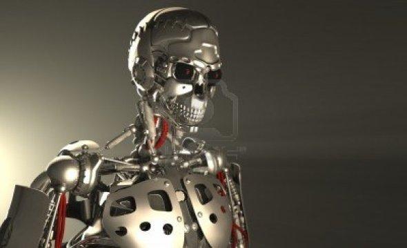 robot yüzü